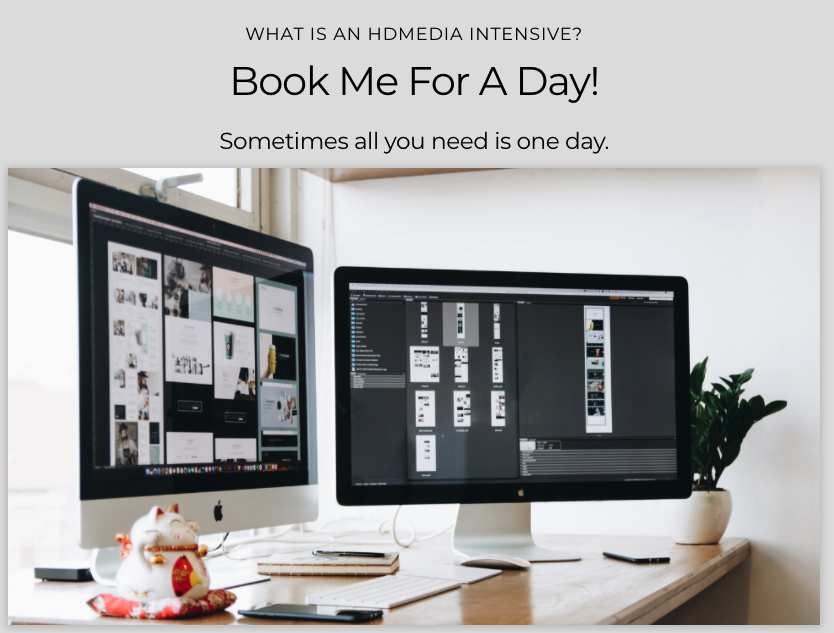 Book me for a day